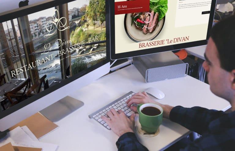 AGENCE CREATION SITE réalisation site internet vitrine landes aquitaine restaurant